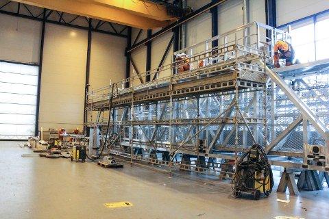 Marine Aluminiums dattterselskap Uptime spesialiserer seg på gangveier offshore.