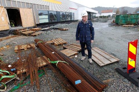 NÆRMER SEG: Hallsjef Kjell Olav Nuntun gleder seg til å åpne dørene til Kuleisen.