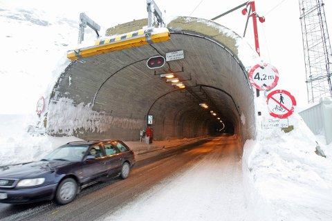 Haukelitunnelen på E 134 Haukelifjell er blant tunnelene hvor rehabilitering absolutt er påkrevd.
