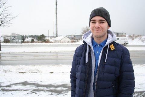 RUSSEPRESIDENT: Mads Kaasa ønsker at folk skal kjenne til russen på Haugaland videregående skole.