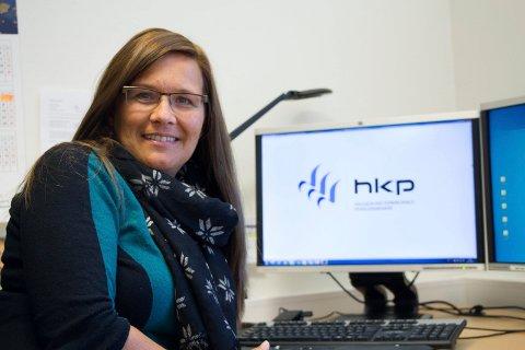STORE VERDIER: Utbetaling til lokale pensjonister har økt med 5,5 prosent fra Haugesund Kommunale pensjonskasse, som ledes av Heidi Sunde.