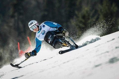 Jesper Saltvik Pedersen i aksjon i VM i Tarvisio i fjor.
