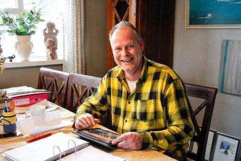 VAR PSYK: Simon Didriksen er frisk etter tung depresjon. Nå er åkrabuen snart 50 år, gir ut bok og er i fin form.