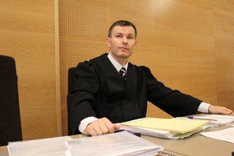 Aktor: Politiadvokat Bjarte Myklebust fører saken for påtalemyndigheten mot den bedrageritiltalte mannen etter at både tingrett og lagmannsrett har avvist forsvarerens inhabilitetsinnsigelser mot ham.