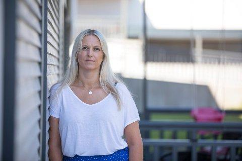 PÅ NETTSIDEN: Barnevernsleder Stine Heinz i Tysvær sier at det på kommunens nettsider står informasjon om barnevernet.