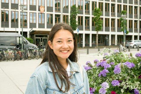 MÅL: Beathe Øgård, gjenvalgt leder for SAIH, har som mål å bli krassere overfor politikerne når det gjelder urettferdighet.
