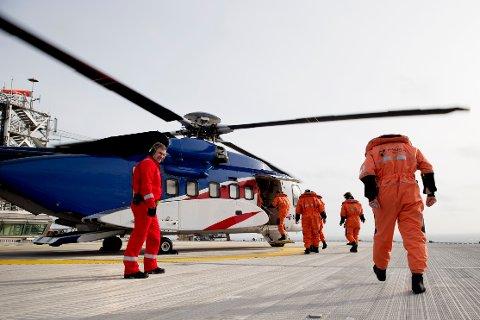 I første omgang tas 669 arbeidere på ni installasjoner ut i streik. Foto: Håkon Mosvold Larsen / NTB scanpix