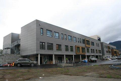 NY SJUKEHEIM: Etnes nye sjukeheim får 30 enkeltrom og kostar 136,6 millionar kroner. Av dette yter Husbanken eit tilskot på 66 millionar kroner.