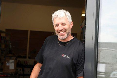 Claus André Johannessen. Eier og daglig leder av Haugaland storkjøkkensenter.