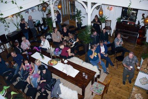 Haugesund 220818. Filmvisning i bedehuset til Pia Noreger og Pål Jackman. Slik ser bedehuset ut sett fra galleriet når filmfestivalen og Haugesund Filmklubb inviterer til kinovisning.