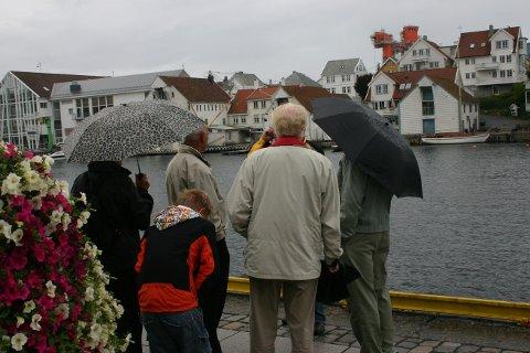 VÅT SILDAJAZZ: Det kommende uka vil være preget av grått og vått vær.