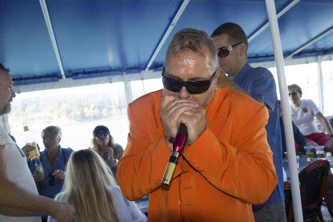 BLUES: Terraplane er ett av flere bluesband som kan høres på Høvleriet. Arnt Ove Kvernenes i aksjon.