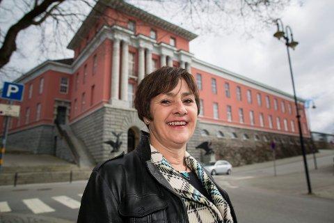 VALGTE BILEN: Varaordfører May Britt Vihovde.  Arkivfoto: Terje Størksen