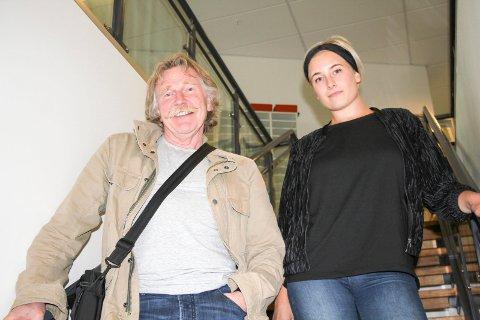 STEDJE: Olav Stede har med seg Kine Nesheim som gjesteartist i Festiviteten.