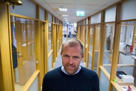 SATSER VIDERE: Daglig leder i Geminor AS, Kjetil Vikingstad.