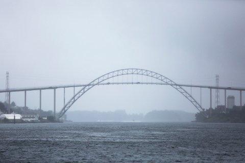 GRÅTT OG VÅTT: Metrologoen melder om en grå og våt januarhelg.
