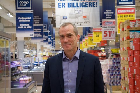 1ØKER OG VOKSER: Regiondirektør Trygve Vikse. i Coop Sørvest ser en vokdsom vekst på Haugalandet.