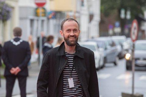 Kommunaldirektør Simon Næsse under Filmfestivalen i fjor. Nå ser det ut til å bli utvidelse av Edda.