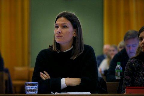 – MÅ SNAKKE MED ALLE PARTER: Gruppeleder i Haugesund Arbeiderparti, Johanne Halvorsen Øveraas, mener det ikke er godt nok å oppfordre til boikott basert på informasjon fra kun den ene parten i en arbeidskonflikt.