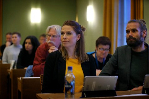 HAR POTENSIAl: Trine Meling Stokland (SV) mener Haugesund kommune har et forbedringspotensial med hensyn til selskaper de er eiere i.  Foto:  Harald Nordbakken