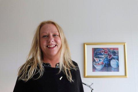Salgs- og markedsdirektør  Anne Bjørg Kjellesvik, presenterte hun seg som for kort tid siden. Nå er 43-åringen blitt direktør.