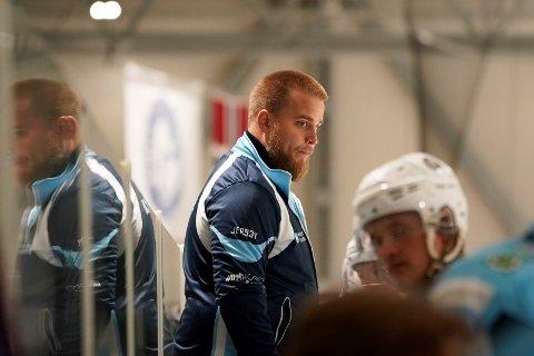 SEAGULLS-TRENER: André Bøen Eriksen.