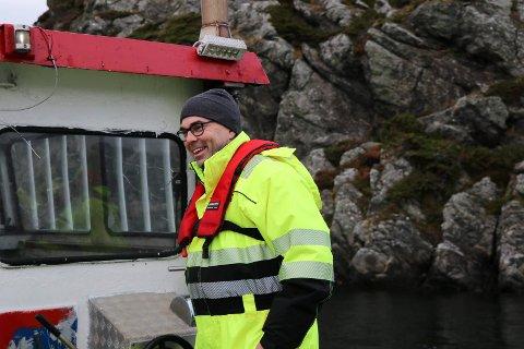 GODE TIDER: Alf Harald Thorsen i Røvær Fjordbruk gjør det fortsatt svært godt. (Arkivfoto)