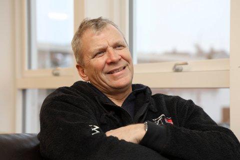 Haugesund 2611 2019 Portrett av  Daglig leder mot eier i Wee Marine og styreleder i Slettaa Dykkerklubb, Åge Wee