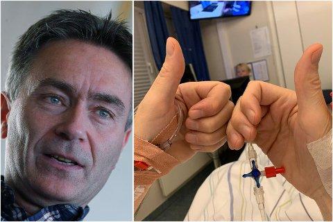OPERERT: Knut Netland ble operert onsdag morgen. Nå blir det et par uker med venting på resultatene.