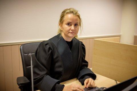 Politiadvokat Christine Møen Wisløff fører saken for påtalemyndigheten i Sunnhordland tingrett. Foto: Terje Størksen