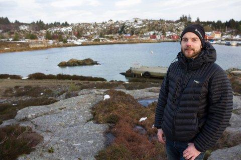 KLAR: Investorene er klare og området er klart, mener Erlend Nilsen, som nå håper på grønt lys fra Fylkesmann til utbygging.
