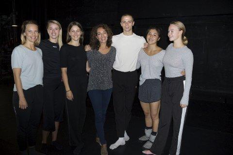 KOMPANI HAUGESUND: Dansekompaniet viser forestillingen som de snart drar til Operaen i Bjørvika  med.