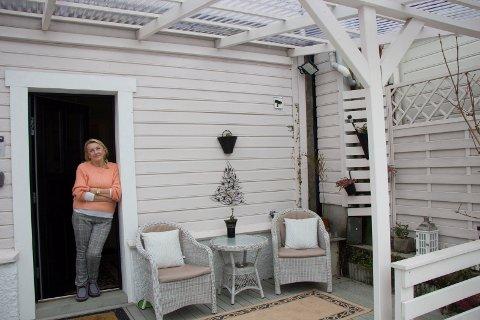 04022019: Teresa Lorentsen selger drømmehuset sitt i  Ludolf Eides gate 5: Skjermet sitteplass mot sør