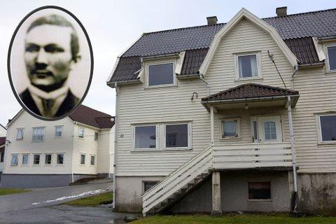 HUSBYGGEREN: Alexius Ess Dyrland fikk reist Solheimsbarakkå i 1917. Nå skal bygget rives.