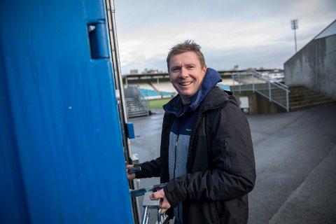 STILLER OPP: FKH-trener Jostein Grindhaug er gjest når Haugesunds Avis inviterer til et slags kick-off til seriestart.