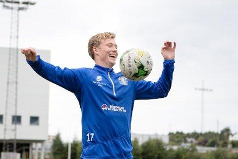 SCORET 2-0-MÅLET: Åkrabuen Kristoffer Stava.