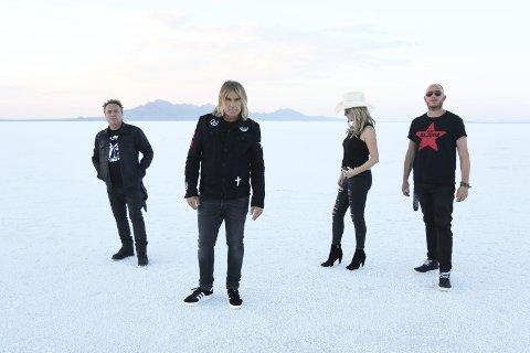 THE ALARM: Bandet har mange store hits på samvittigheten og spiller på Flytten  lørdag.