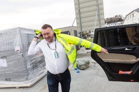 KONKURS: Tirsdag gikk Øystein Grønhaug de tunge skrittene til skifteretten med de tre selskapene.