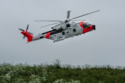 Det første av de nye AW101 redningshelikoptrene kan være i drift om åtte måneder, skriver nettstedet Aldrimer.no. Arkivfoto: Carina Johansen / NTB scanpix