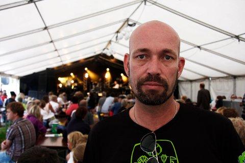 EN GOD JOBB: - Det handler litt om at vi har gjort en god jobb. Derfror har vi overlevd, sier Vidar Lund, festivalsjef for Fugl Fønix Fest 31.mai-1. juni.
