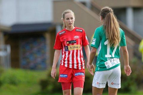 ROGALANDS-DUELL: Hanna Dahl og Avaldsnes møter Klepp til cupduell 31. juli.