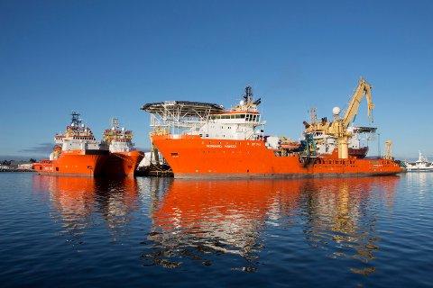 ANSETTER: Solstad Offshore bemanner opp og tar skip ut av opplag, ifølge Sysla. Arkivfoto.