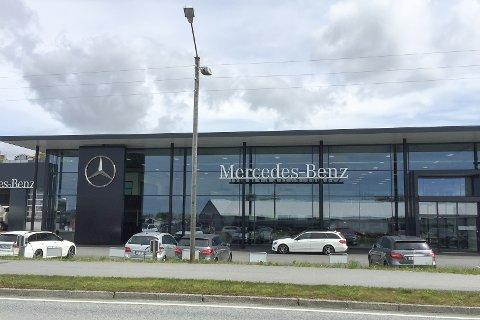 SKIFTER EIER: I månedsskiftet vil Bilgruppen AS selge Mercedes i Haugesund.