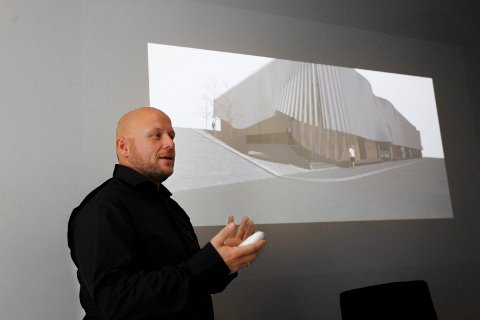 NOMINERT: Sivilarkitekt hos OPUS arkitekter Pål Stolt-Nielsen Reksten forteller at Statens pris for byggkvalitet henger høyt.