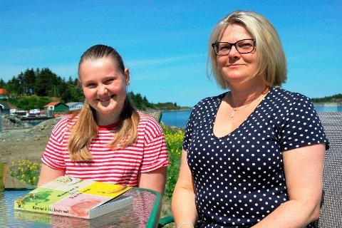 REAGERER: Dina og moren Laila Mørch mener bakeriet kan fordele maten på bestilte poser.