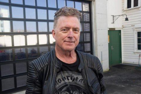 TILFREDS: - Jeg er veldig glad for at Haugaland Prog & Rock Festival fortsetter, sier Arnstein Heggen som sitter i festivalstyret.