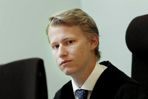 Frifant: Dommerfullmektig Magnus Guderud i Haugaland tingrett la vekt på at ingen hadde sett de to tiltalte ved bolighuset der biltyveriet skjedde.