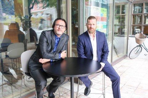 KOMMER: Duoen Vidar Johnsen og Peter Nordberg er tilbake for fullt etter noen års pause og opptrer på Kopervik Festival torsdag 6. juni.