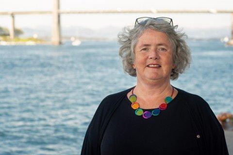 Heidi Bjerga, førstekandidat for SV til fylkestingsvalget i Rogaland