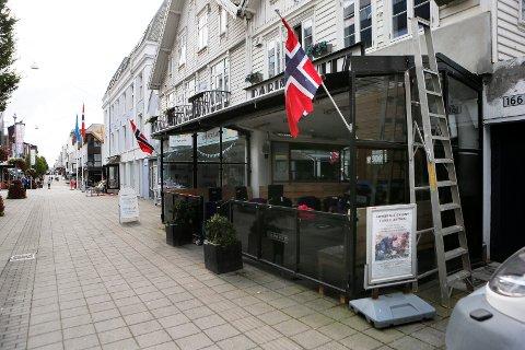 VED BYTUNET: Rabinowitz Bar i Haraldsgata gikk i pluss i 2018.